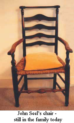 John Seel's chair - still in the family today